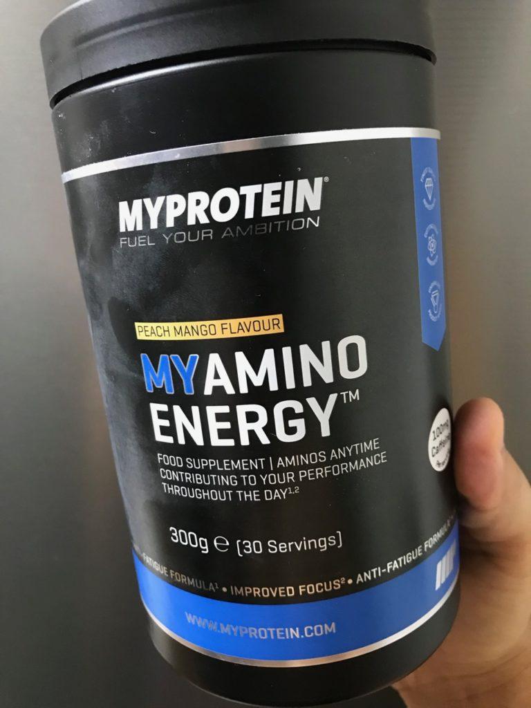 バルクアップとダイエットに役立つアミノ酸をブレンド!ベストな飲み方は?【マイプロテインTHEアミノエナジー】のレビュー
