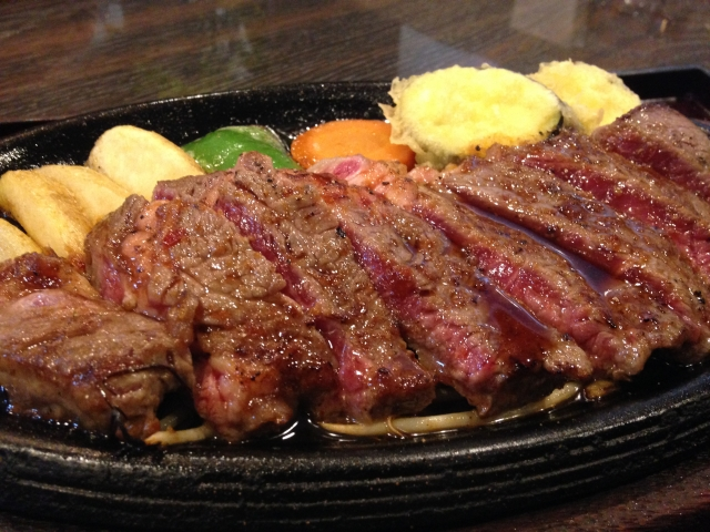 牛肉のステーキ最強説。筋肥大にもダイエットにも使えます。