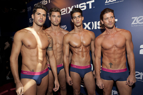 Mens Underwear Fashion Shows